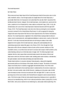 Depression research papers