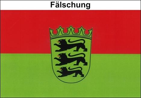 Baden-Württemberg: Fälschung
